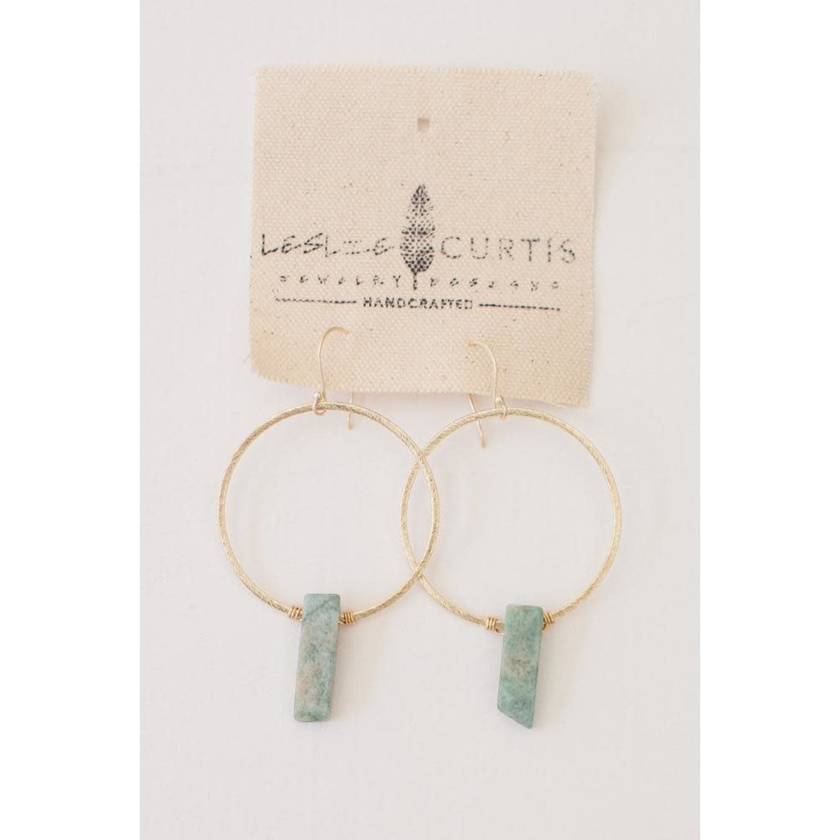 Leslie Curtis Jewelry Designs Alexandria Earrings In Gold