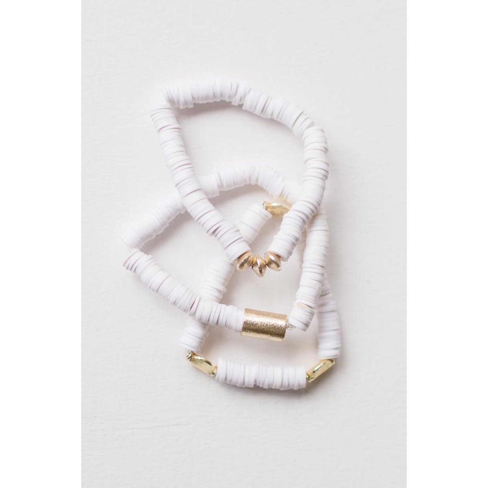 Leslie Curtis Jewelry Designs Ava Set of 3 Bracelets