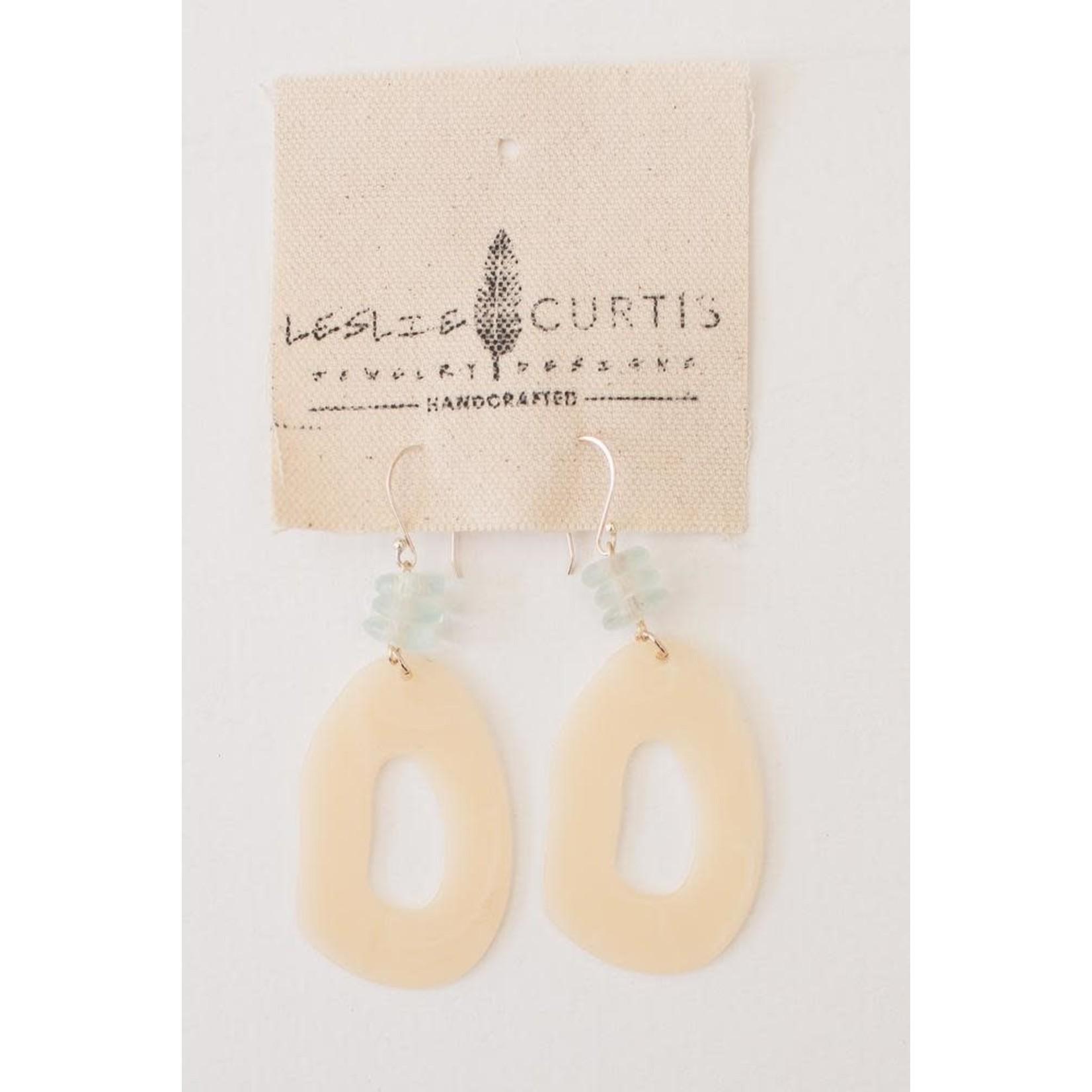 Leslie Curtis Jewelry Designs Etta Resin Earrings