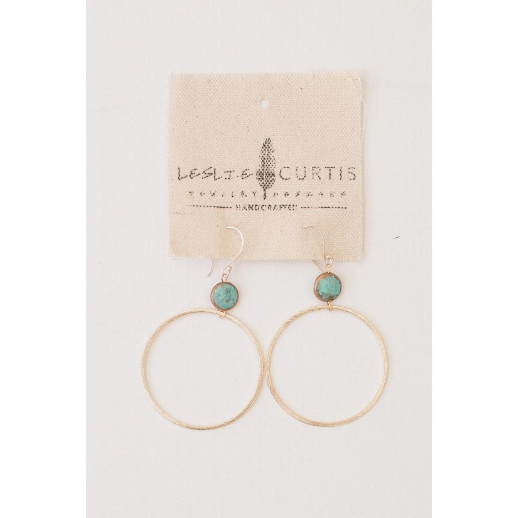 Leslie Curtis Jewelry Designs Harper Hoop Earrings