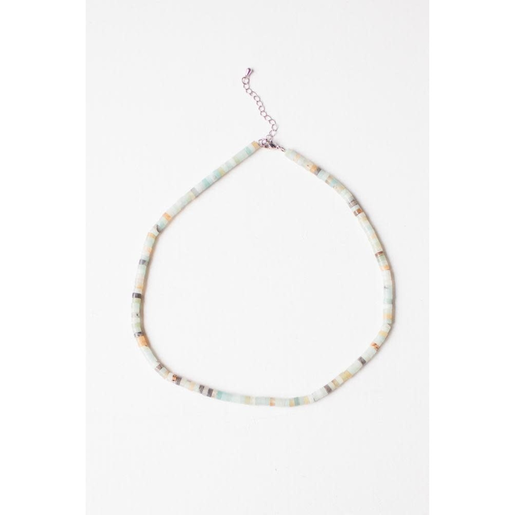 Leslie Curtis Jewelry Designs Melissa Amazonite Necklace