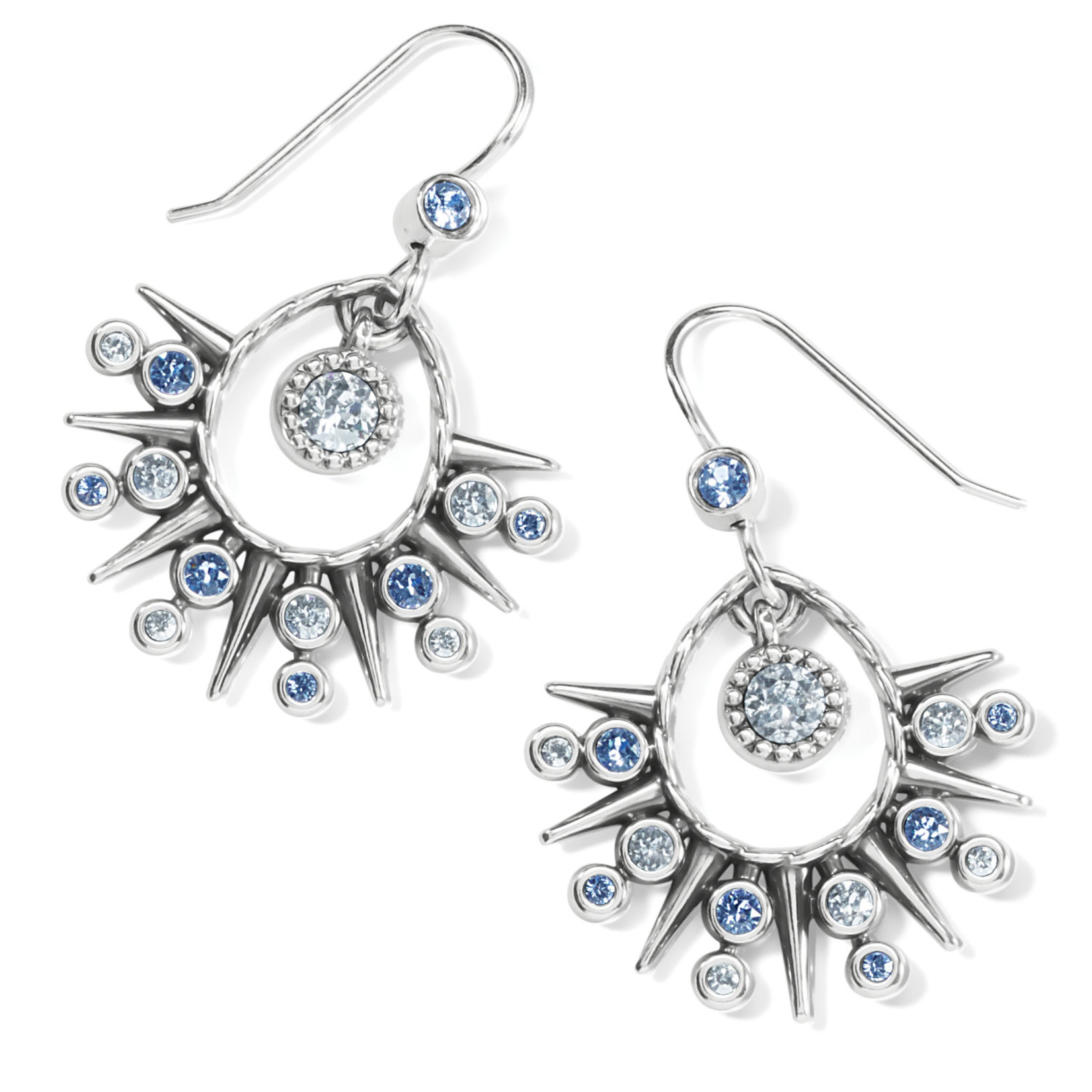 Brighton Halo Ice French Wire Earrings