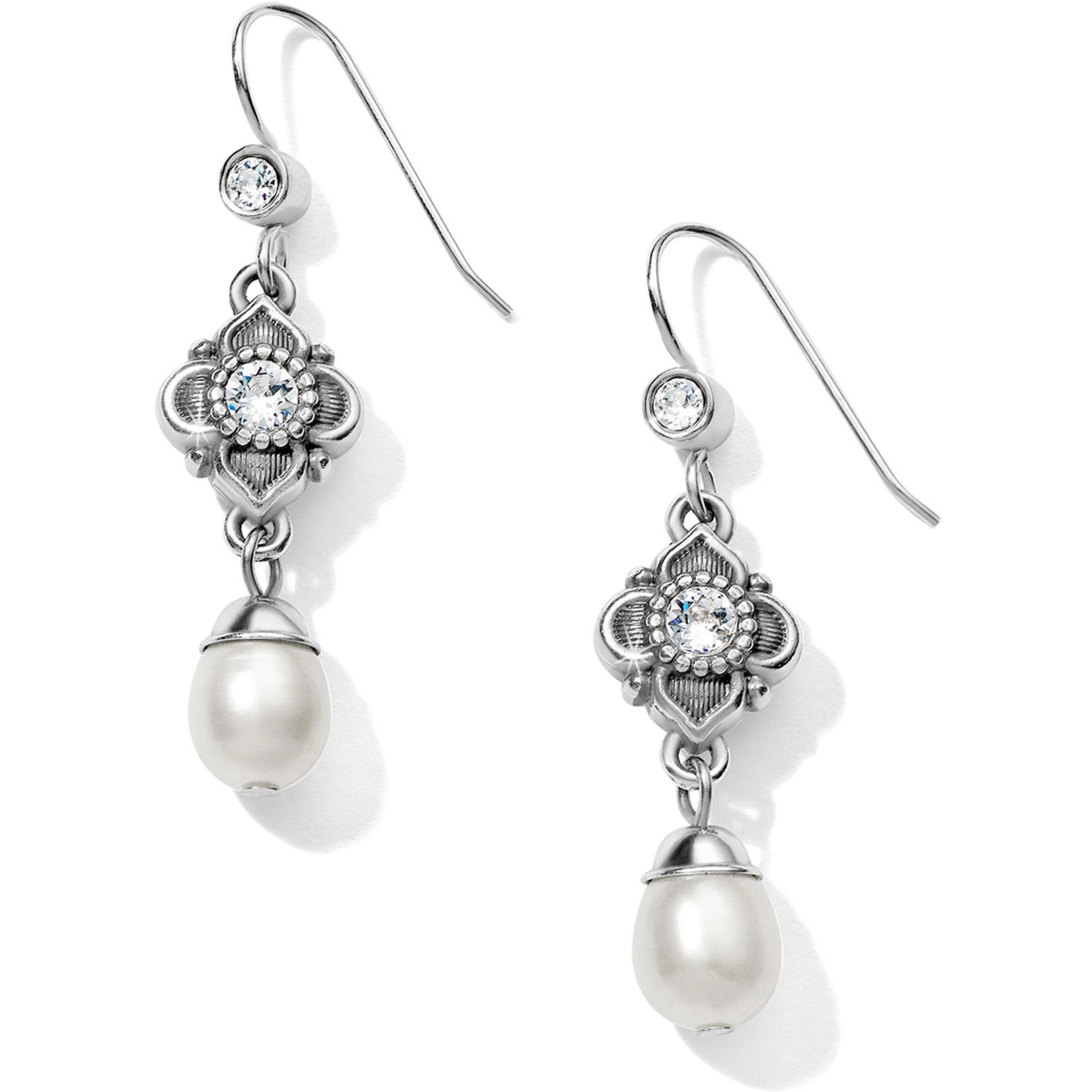 Brighton Alcazar Margaret French Wire Drop Earrings pearl