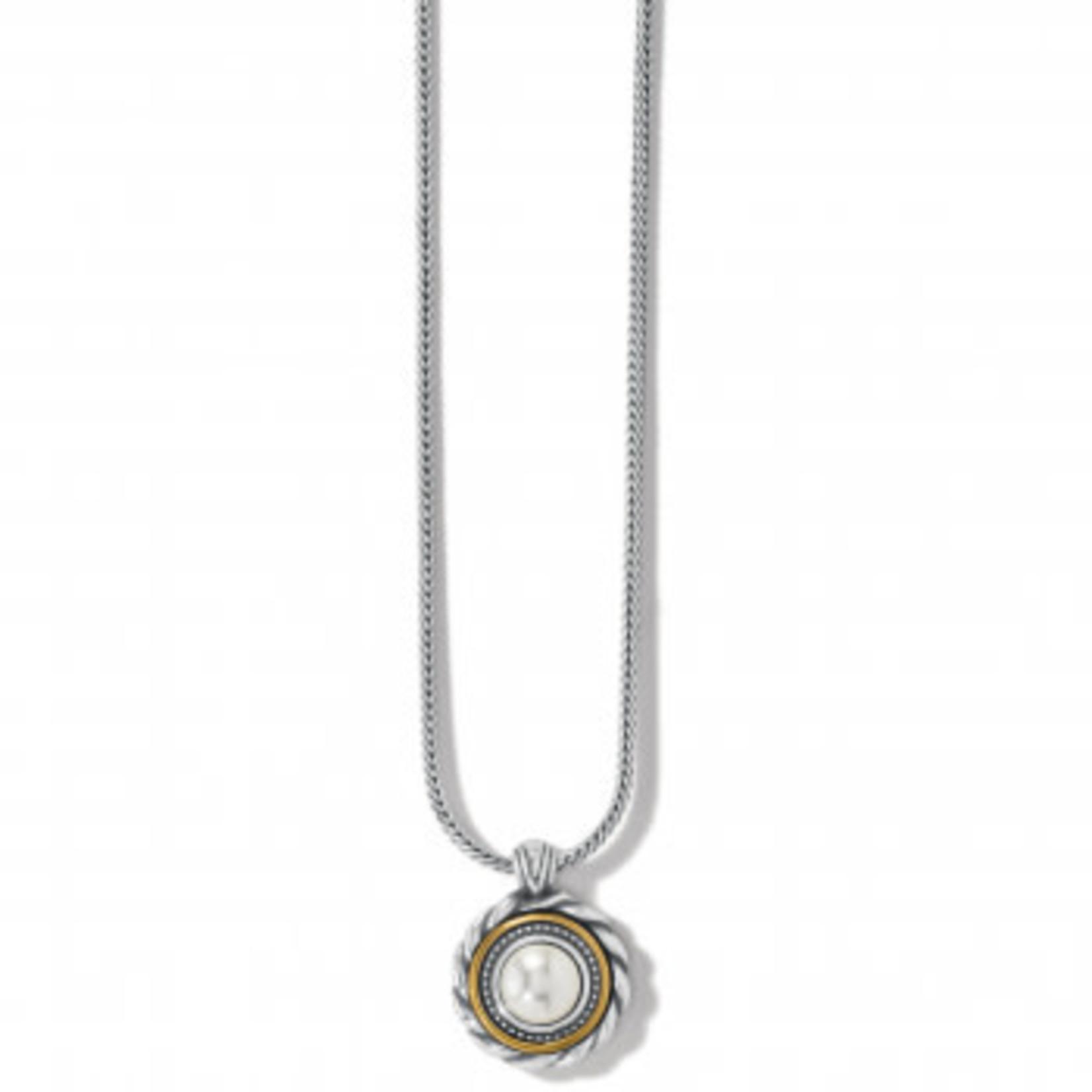 Brighton Meridian Golden Pearl Short Necklace