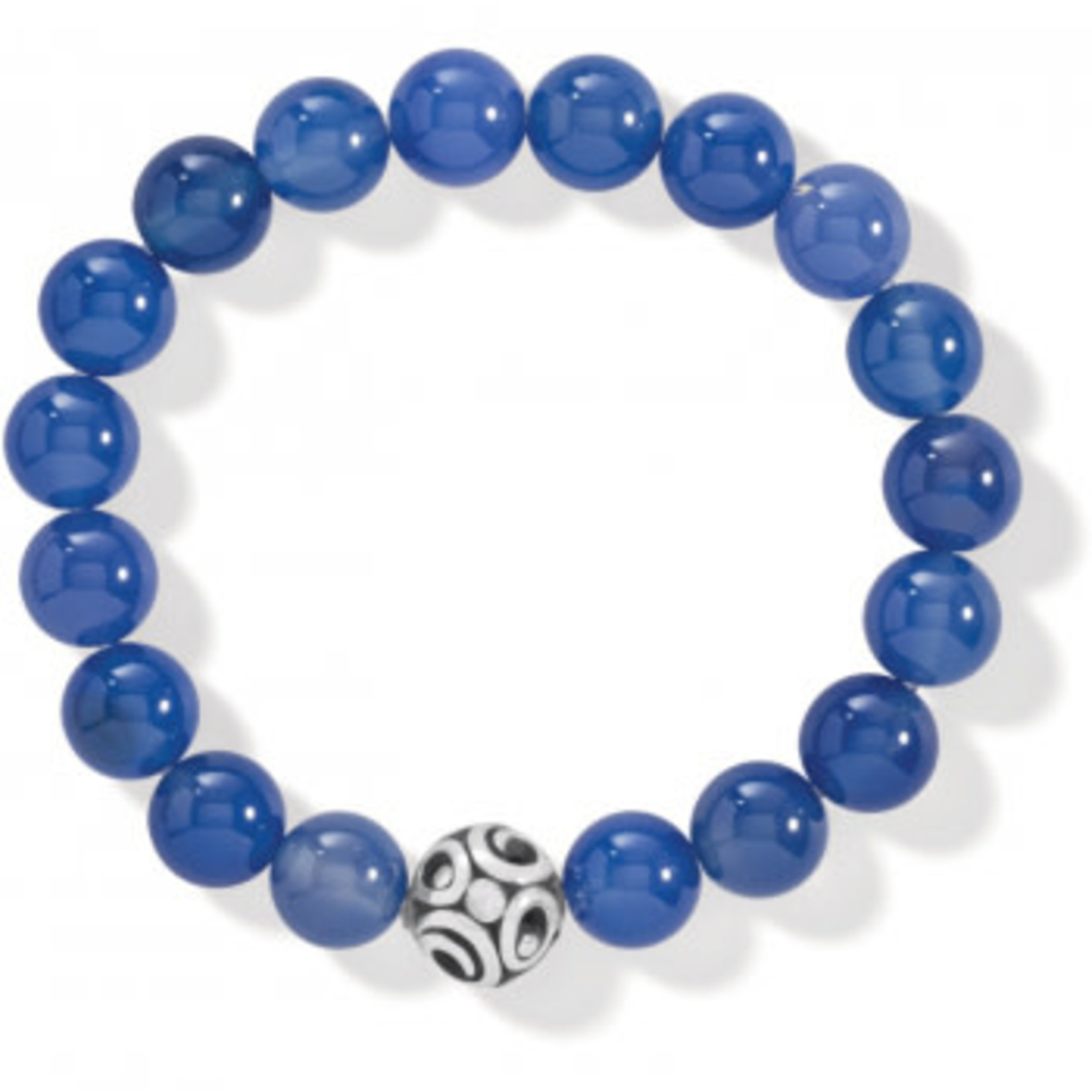 Brighton Contempo Chroma Blue Agate Stretch Bracelet