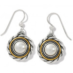 Brighton Meridian Golden Pearl French Wire Earrings