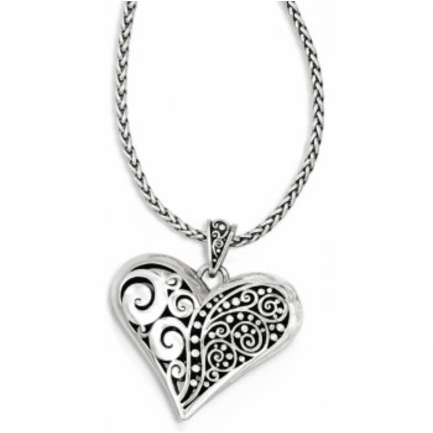 Brighton Love Affair Necklace silver