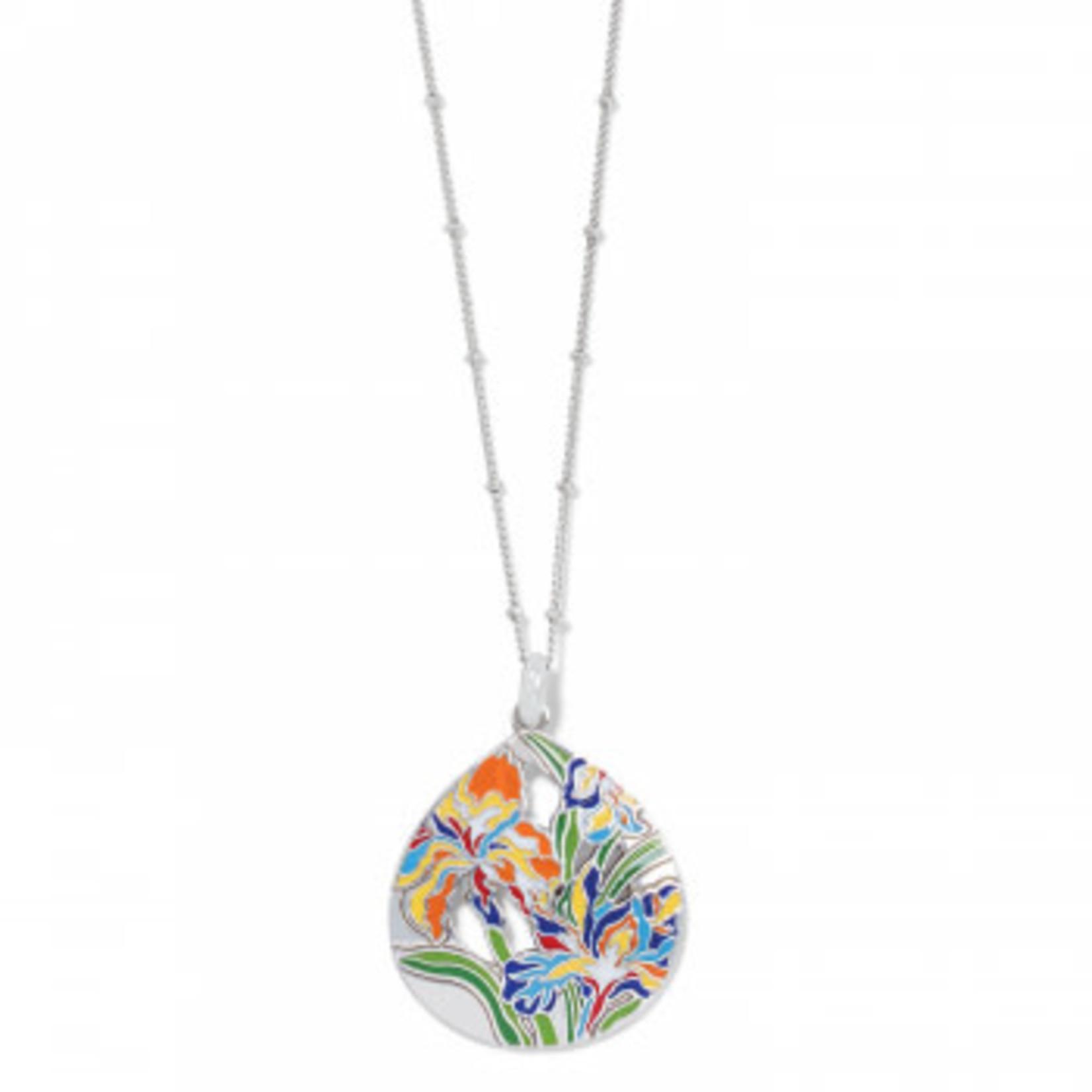 Brighton Iris Bloom Short Necklace