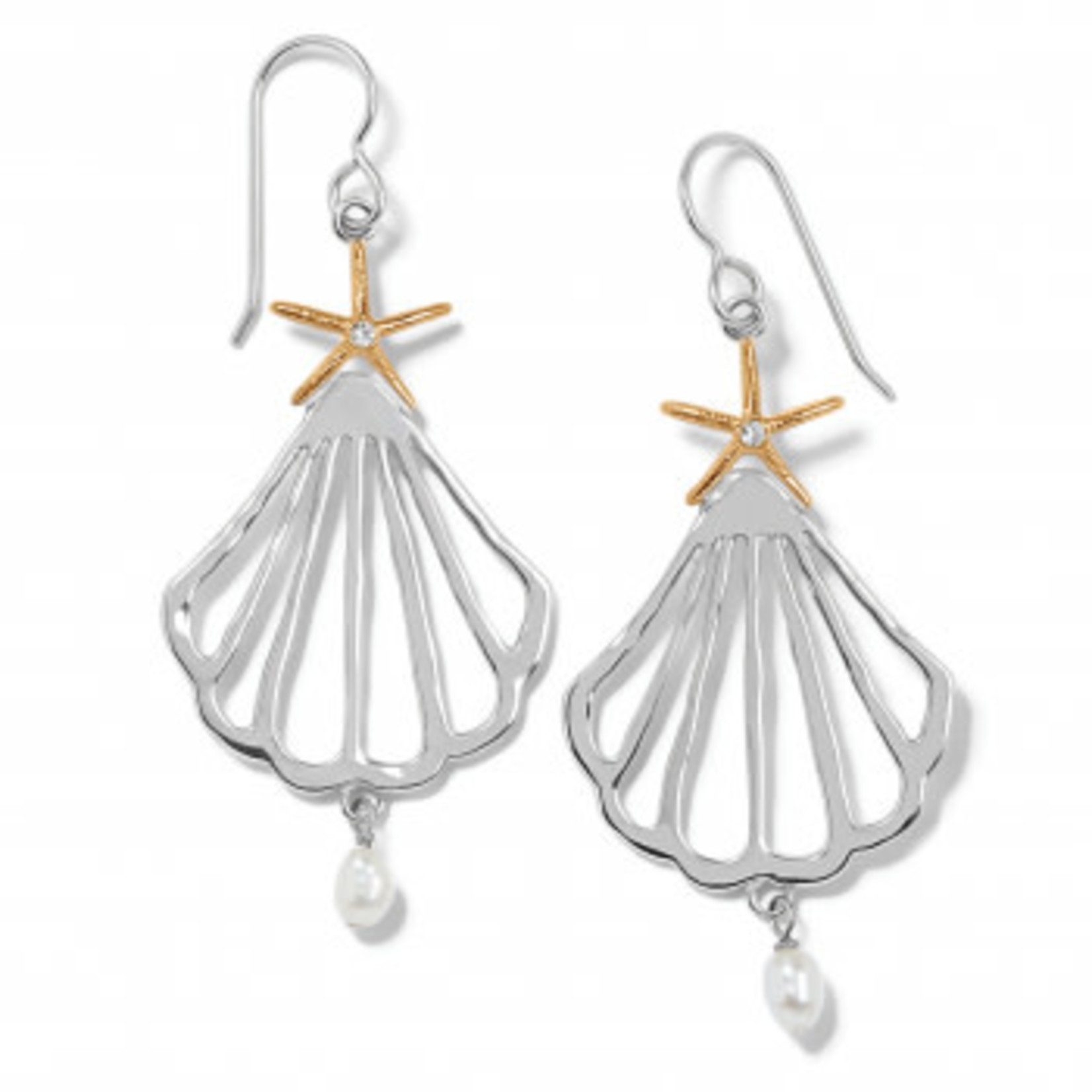 Brighton Paradise Cove Trio French Wire Earrings