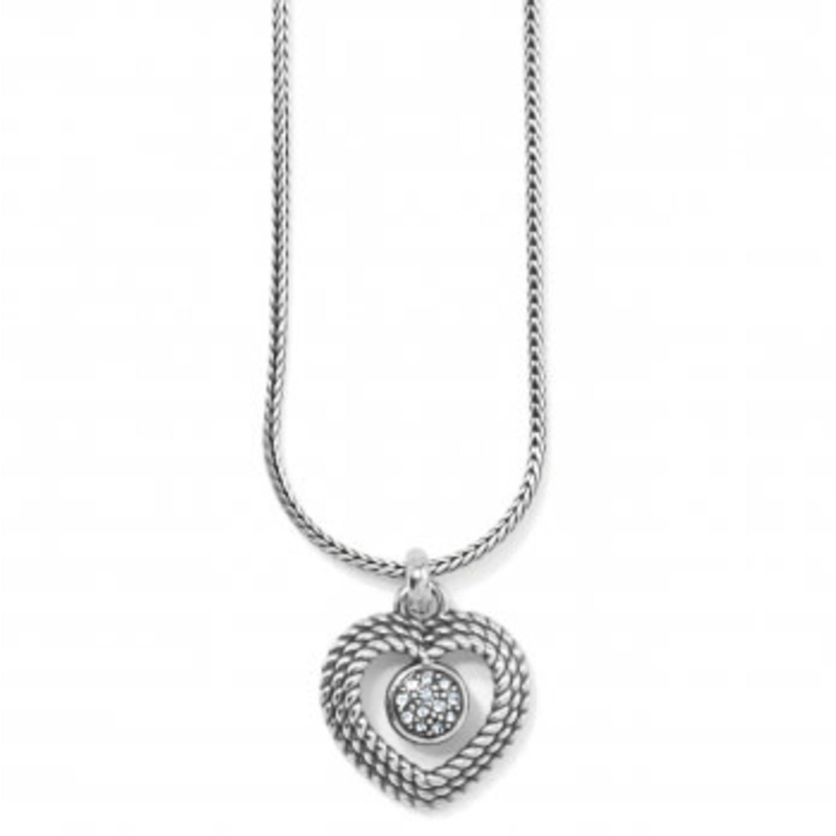 Brighton Portuguese Heart Short Necklace