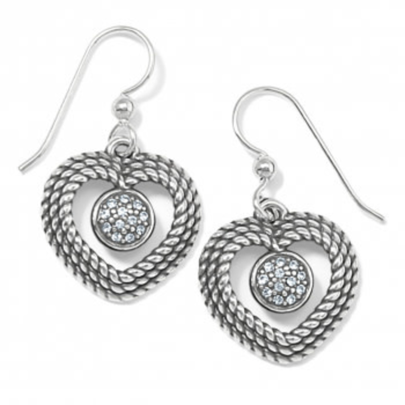 Brighton Portuguese Heart French Wire Earrings