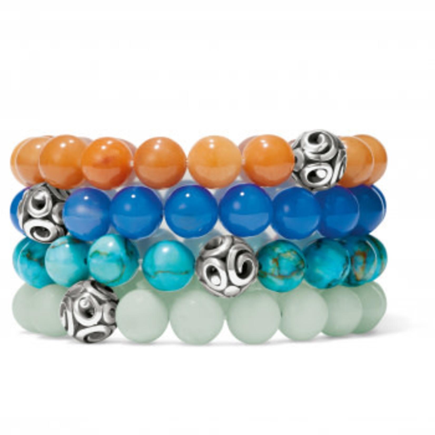 Brighton Contempo Chroma Turquoise Stretch Bracelet