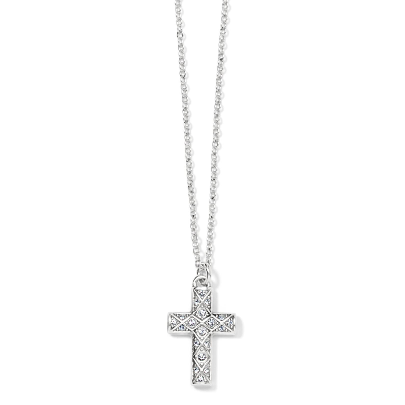 Brighton Diamond Cross Necklace