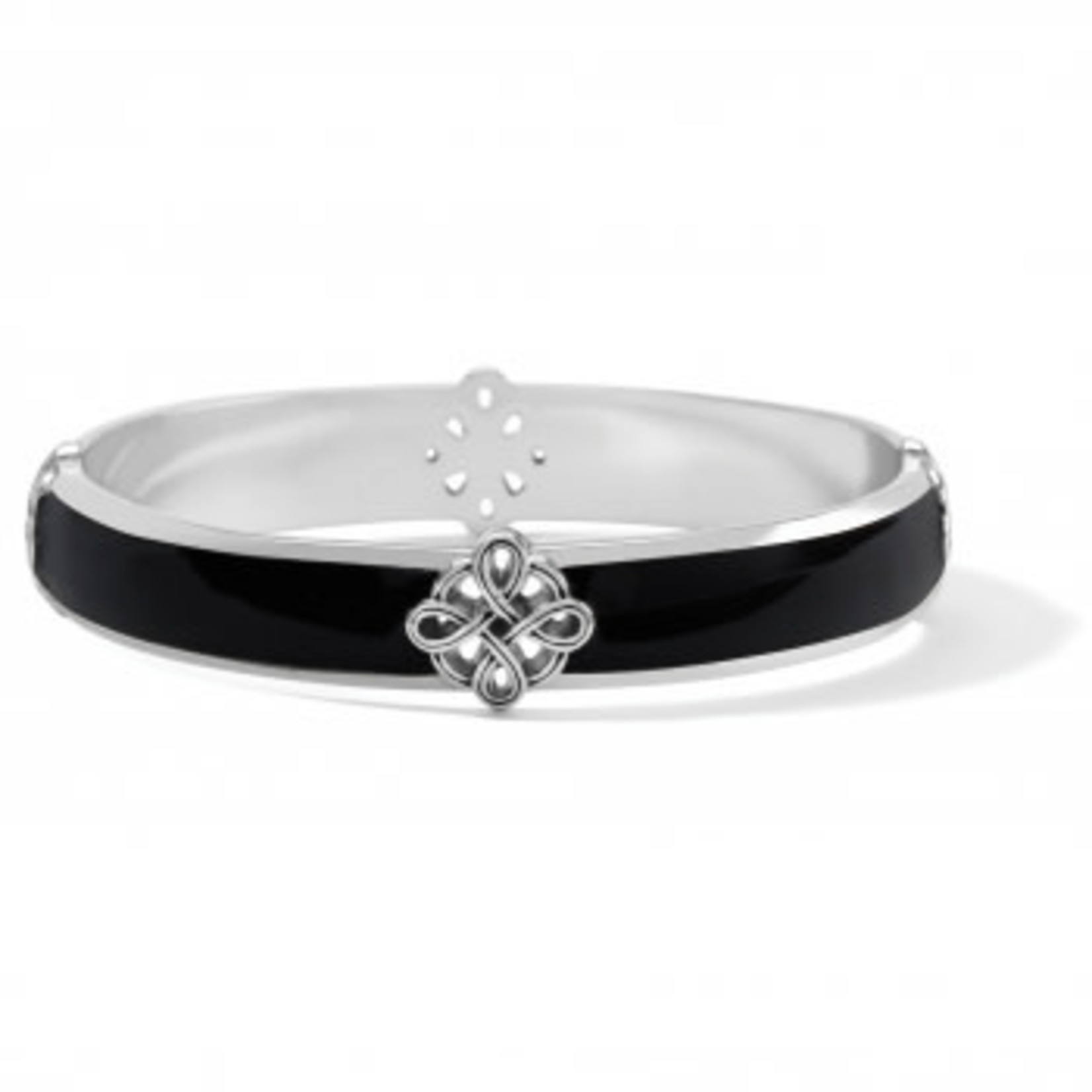 Brighton Interlok Noir Bangle