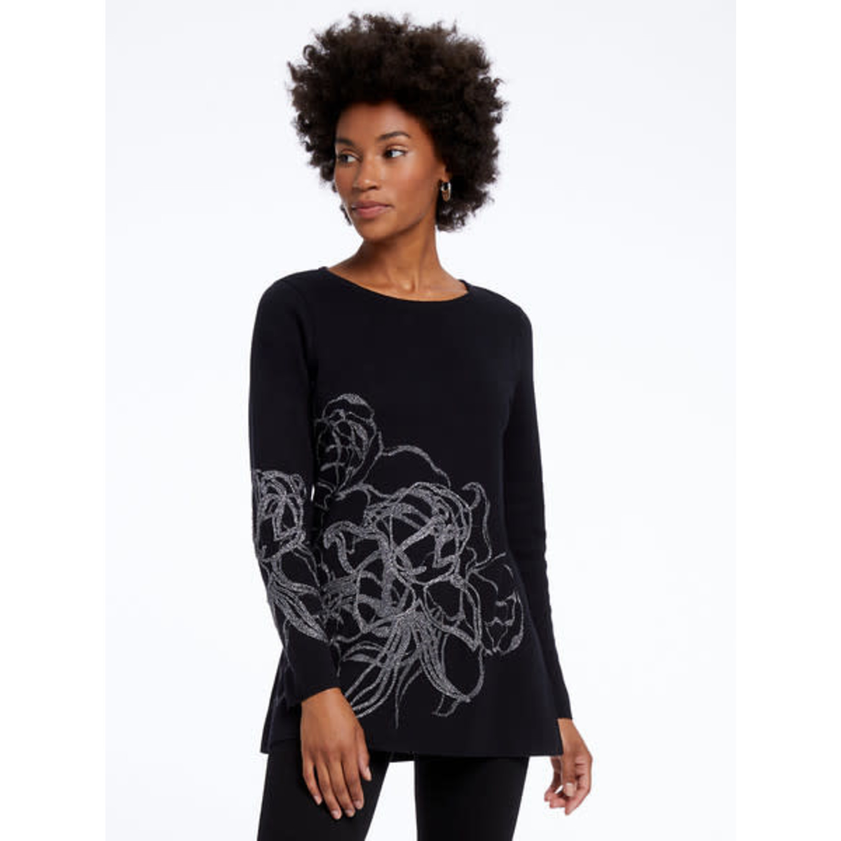 Nic+Zoe Blossom Sweater