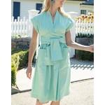 Tyler Boe Paulette Seagrass Wrap Dress
