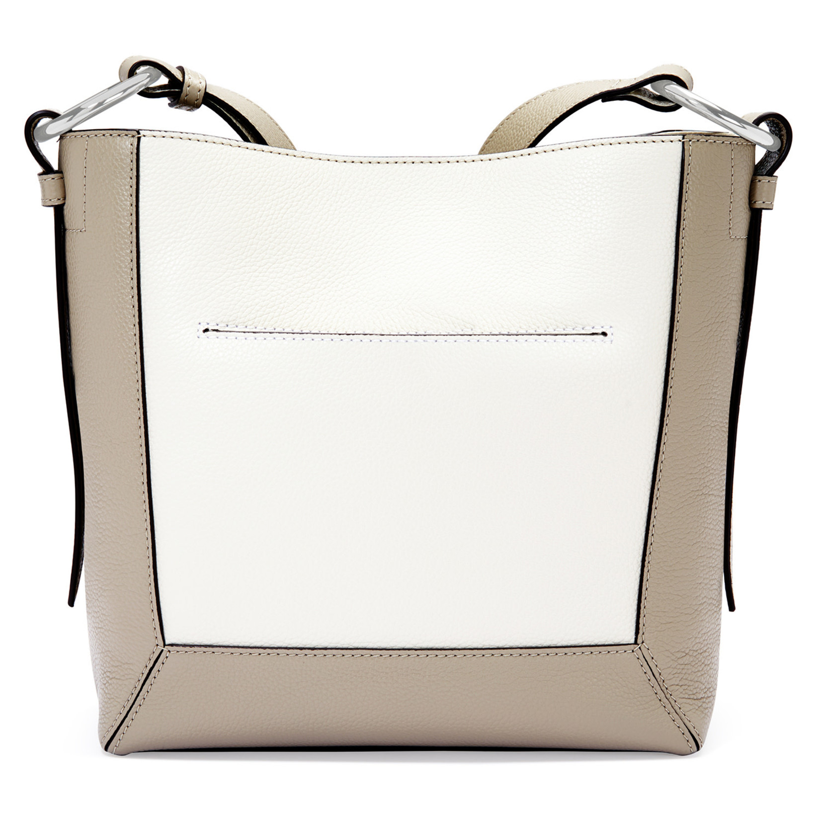Brighton Kylie Cross Body Bag - Beechwood-White