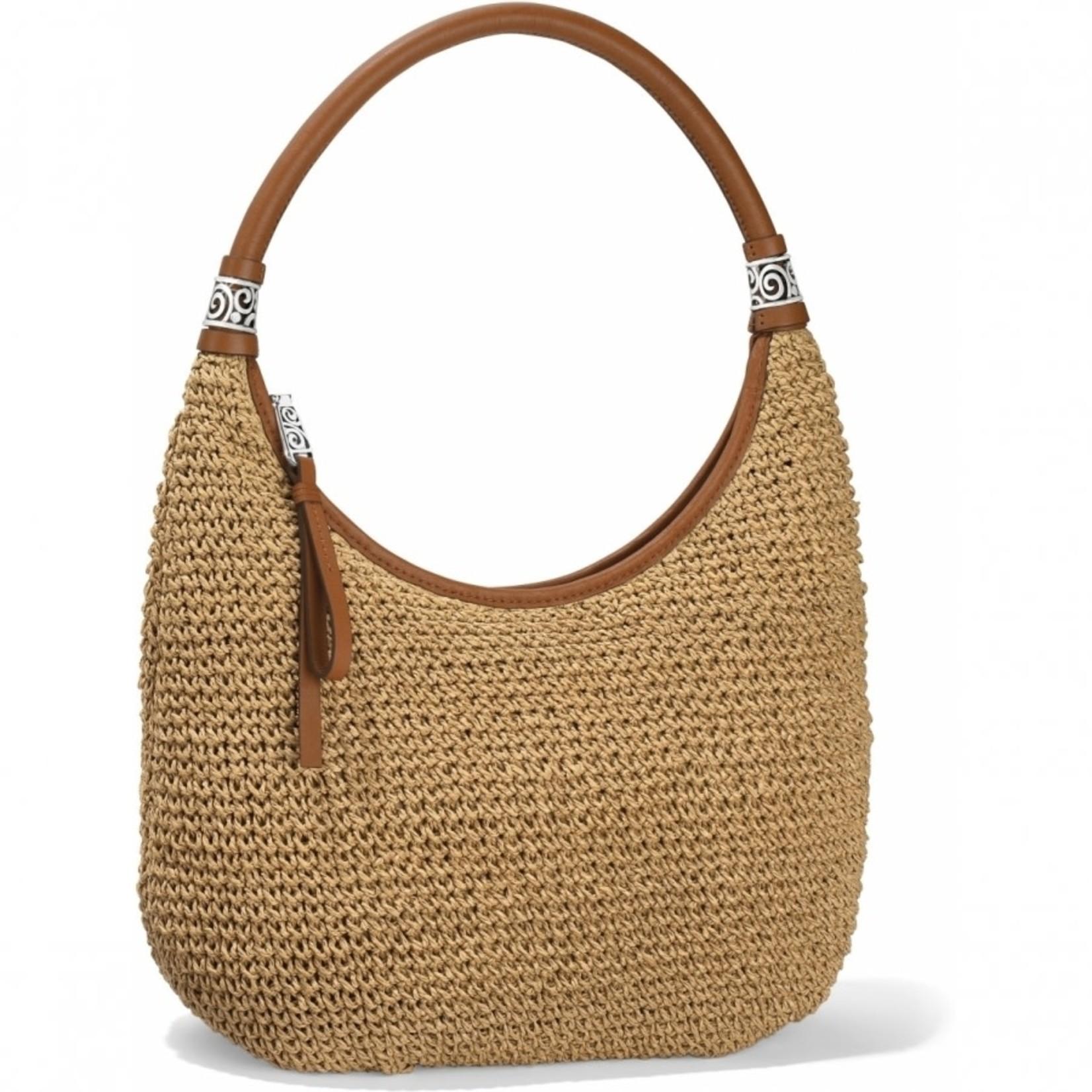 Brighton Shelby Straw Shoulderbag Wheat-Luggage