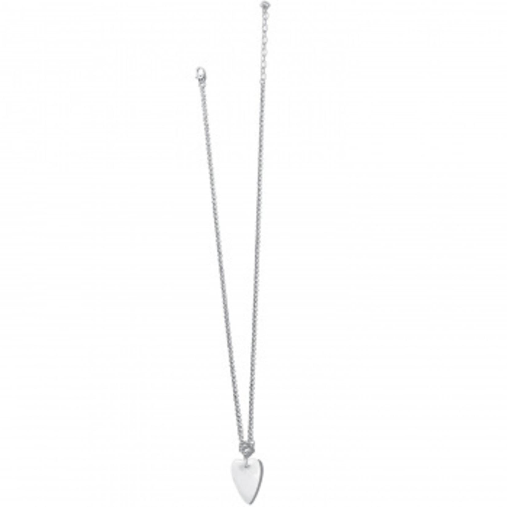Brighton Toledo With Love Crystal Quartz Necklace