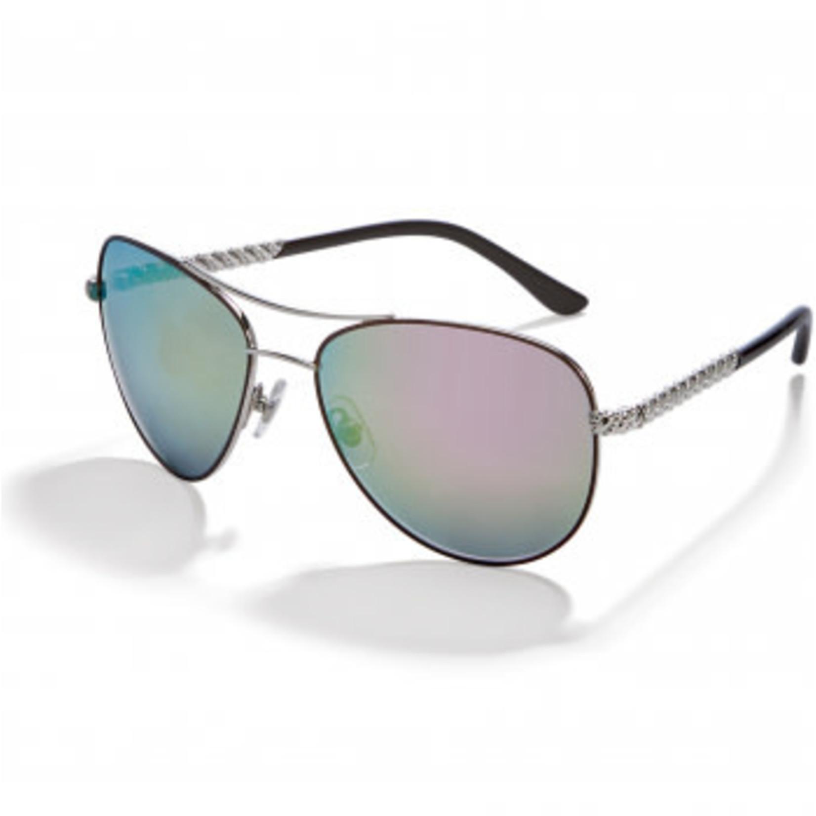 Brighton Helix Grn/PinkTinted Sunglasses