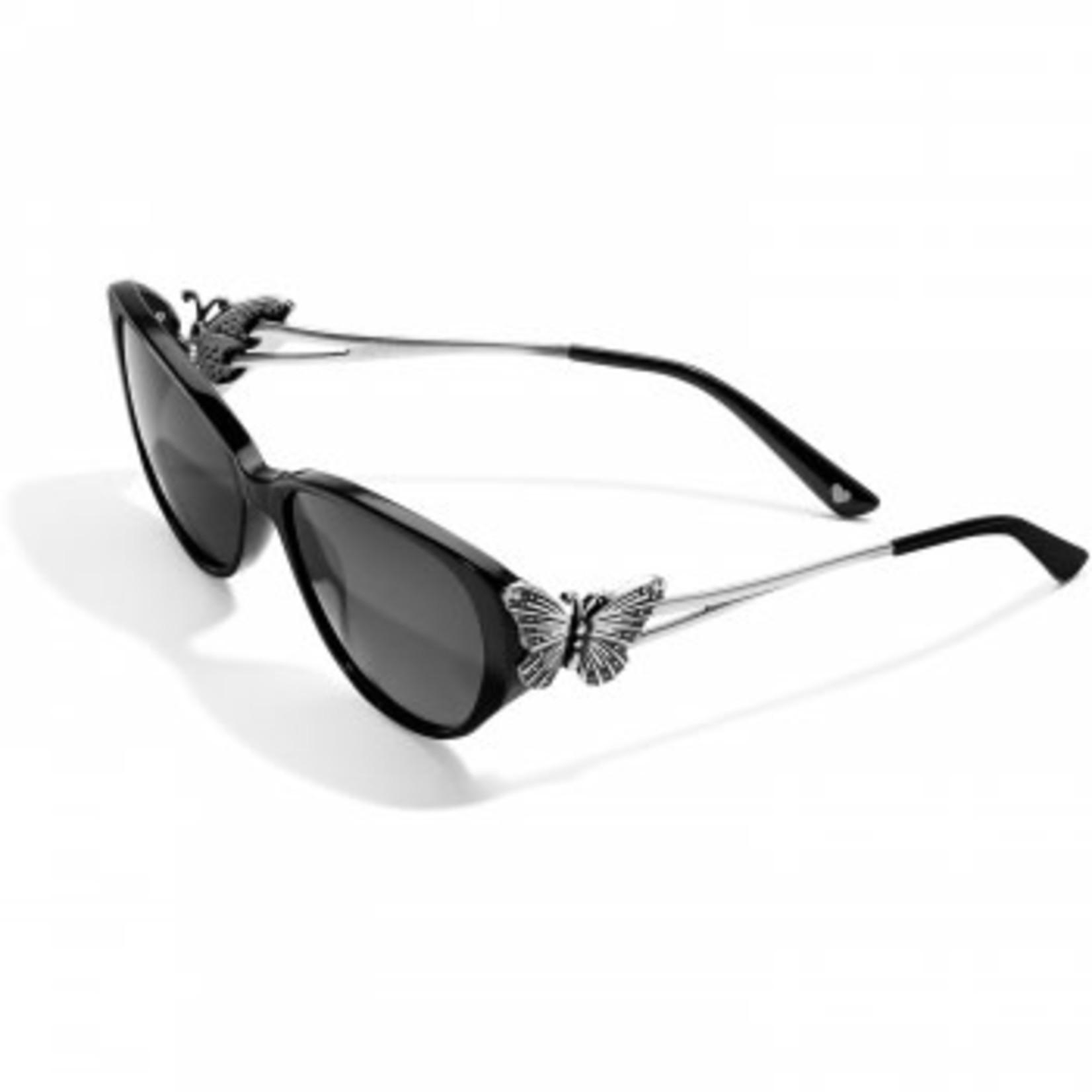 Brighton Social Lite Sunglasses Black-Silver