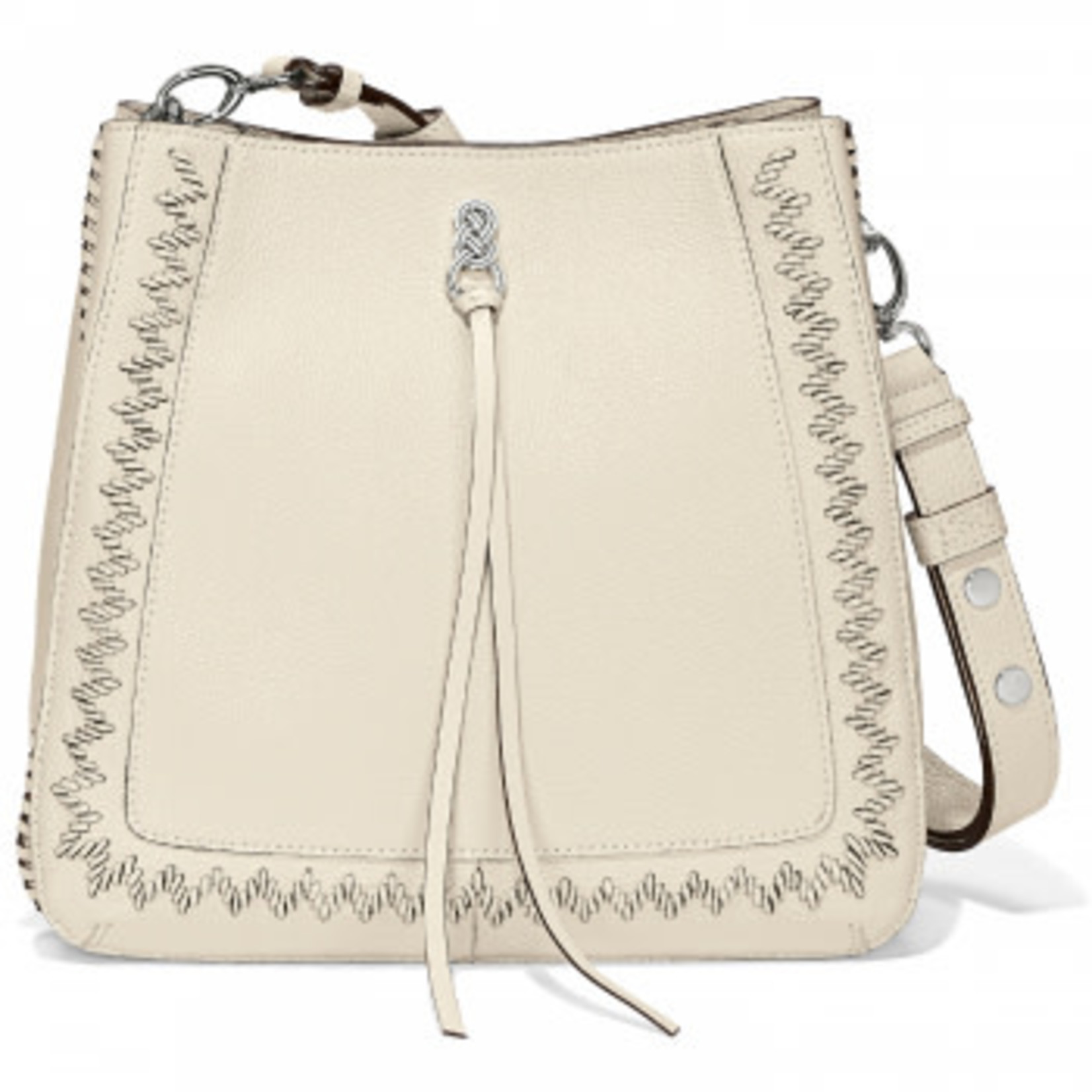 Brighton Georgia Convertible Hobo White