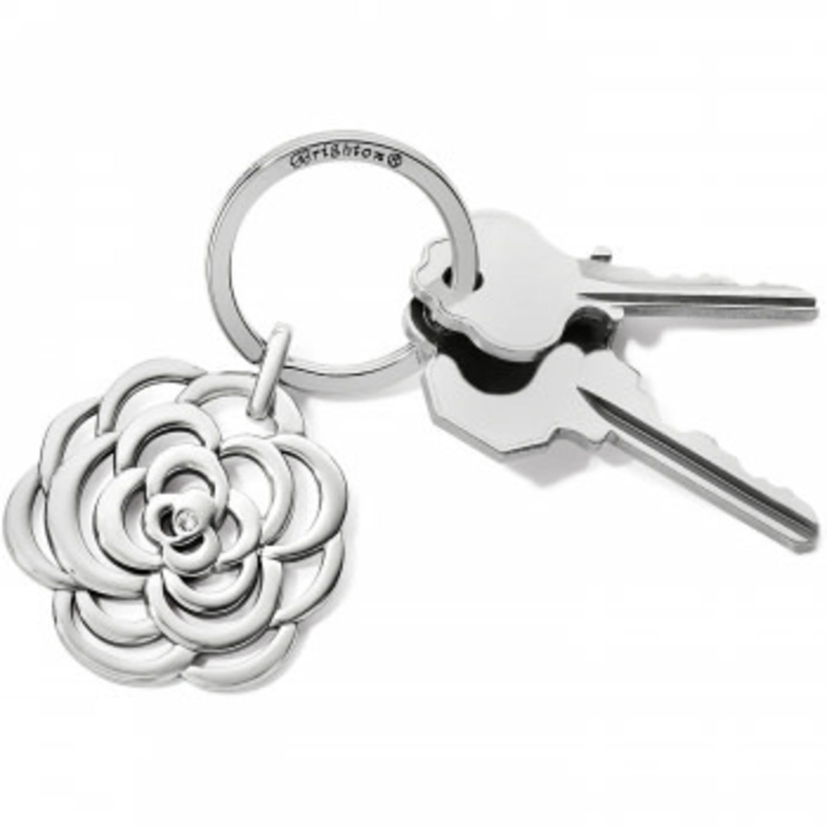 Brighton The Botanical Key Fob Silver