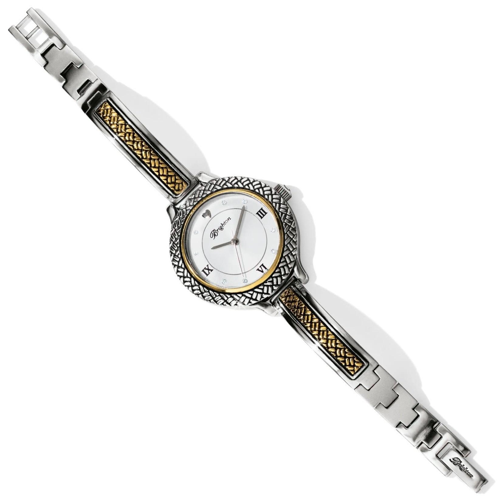 Brighton Scottsdale Watch Silver-Gold