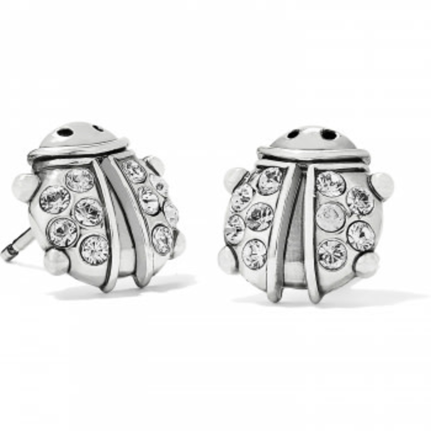 Brighton Lady Luck Mini Post Earrings Silver