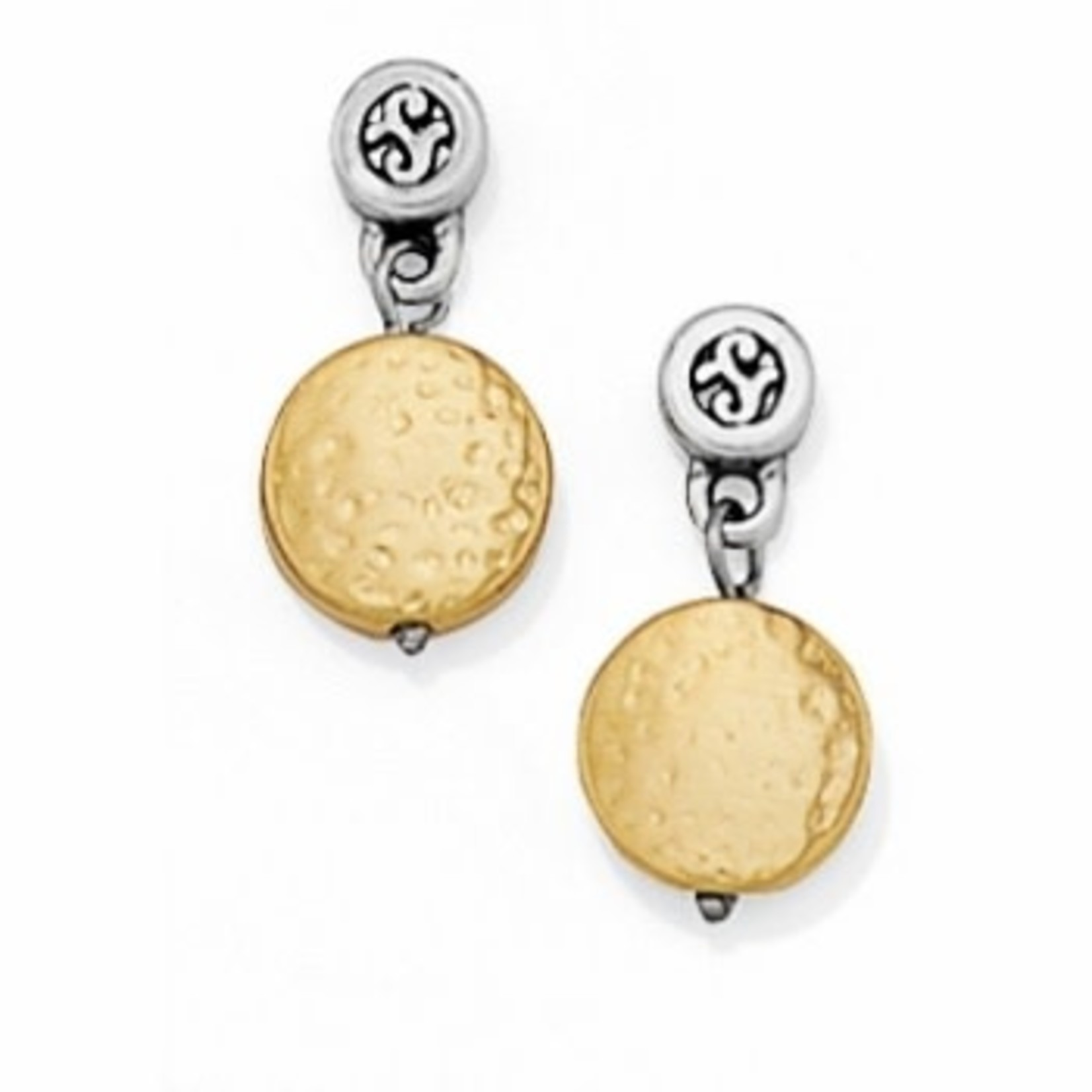 Brighton Earrings/Mediterranean/PostShort; Size : Gold