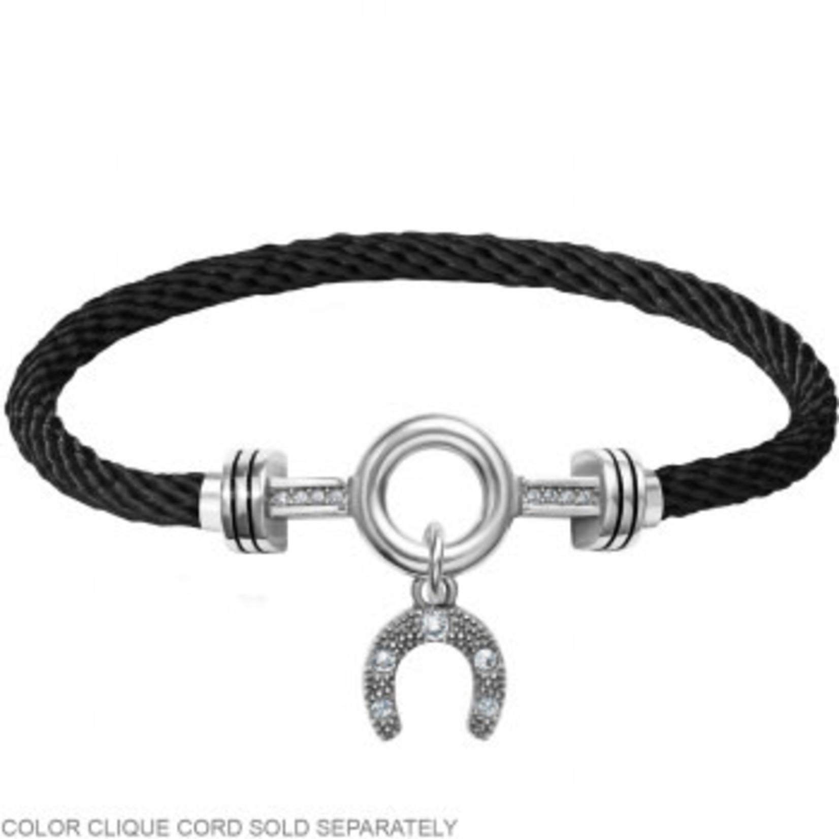 Brighton Color Clique Cord Lucky Horseshoe Ornament