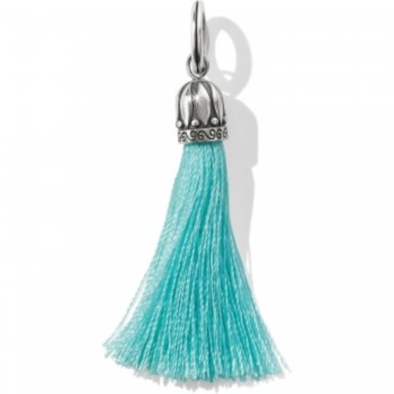 Brighton Tahlia Tassel Amulet In Aqua
