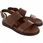 Brighton Hana Caramel Leather Sandal