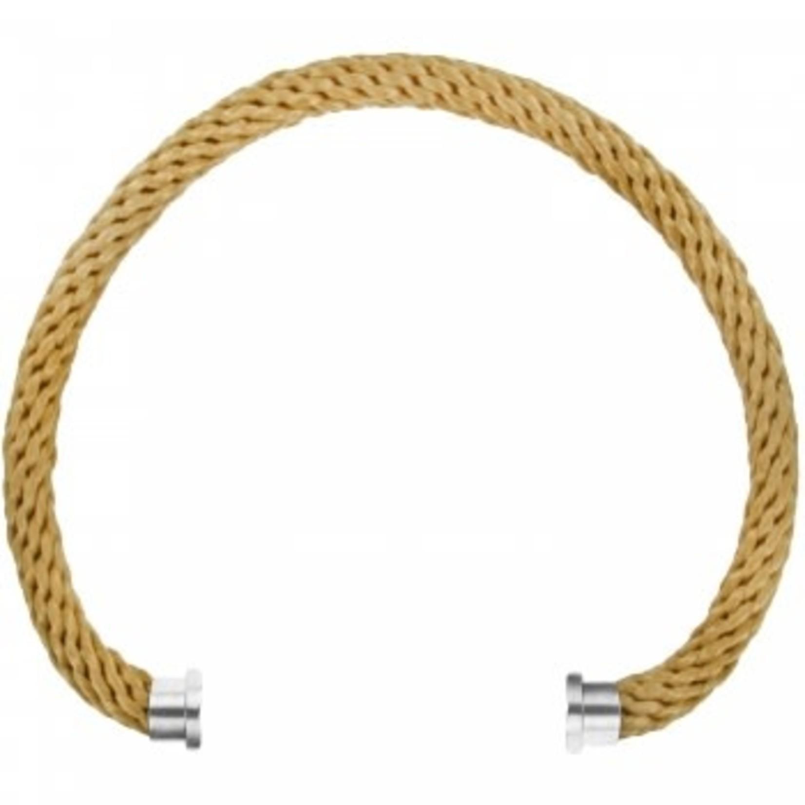 Brighton Color Clique Nylon Cord in Gold  S/M