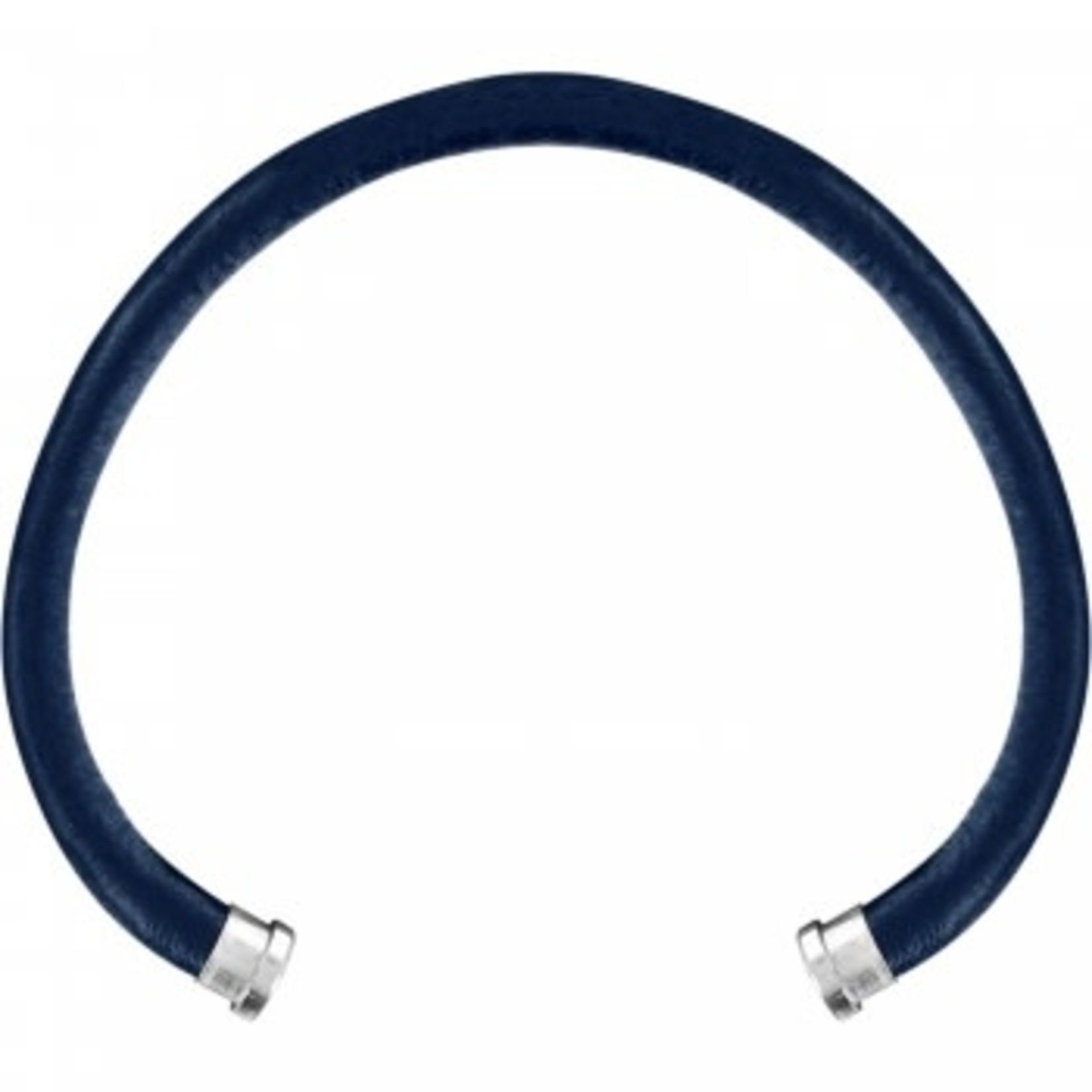 Brighton Color Clique Leather Cord in Navy M/L