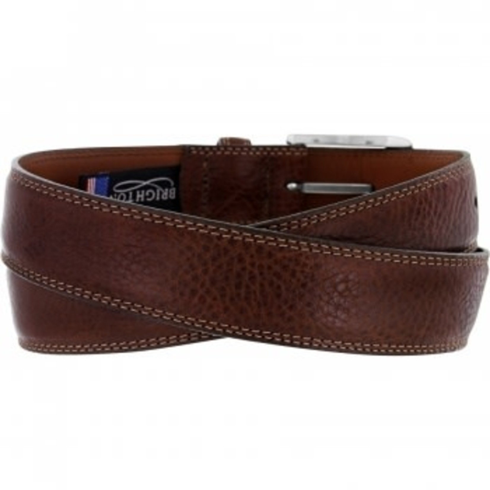 Brighton Ventura Belt in Brown