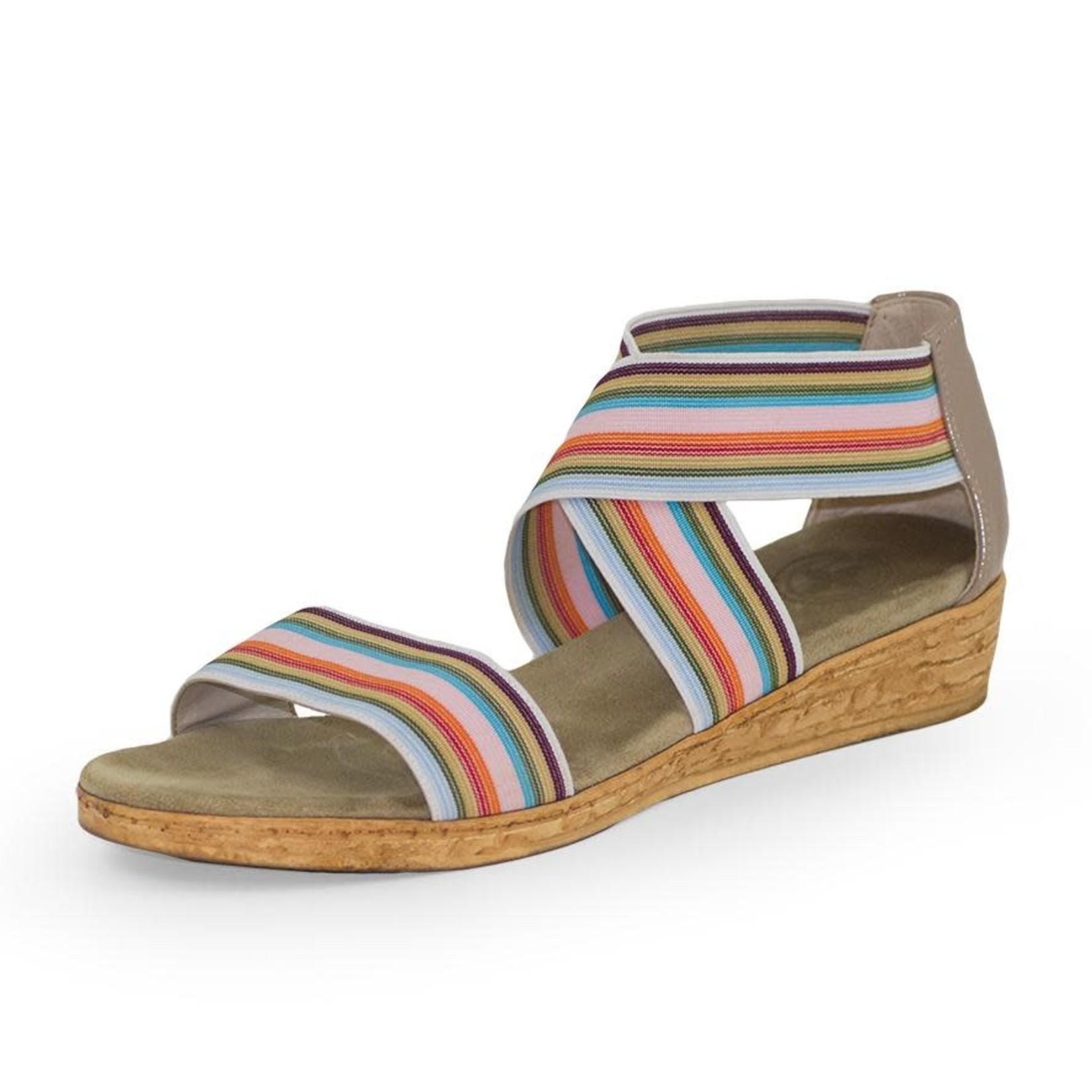 Peri Shoe in Multi Stripe 10