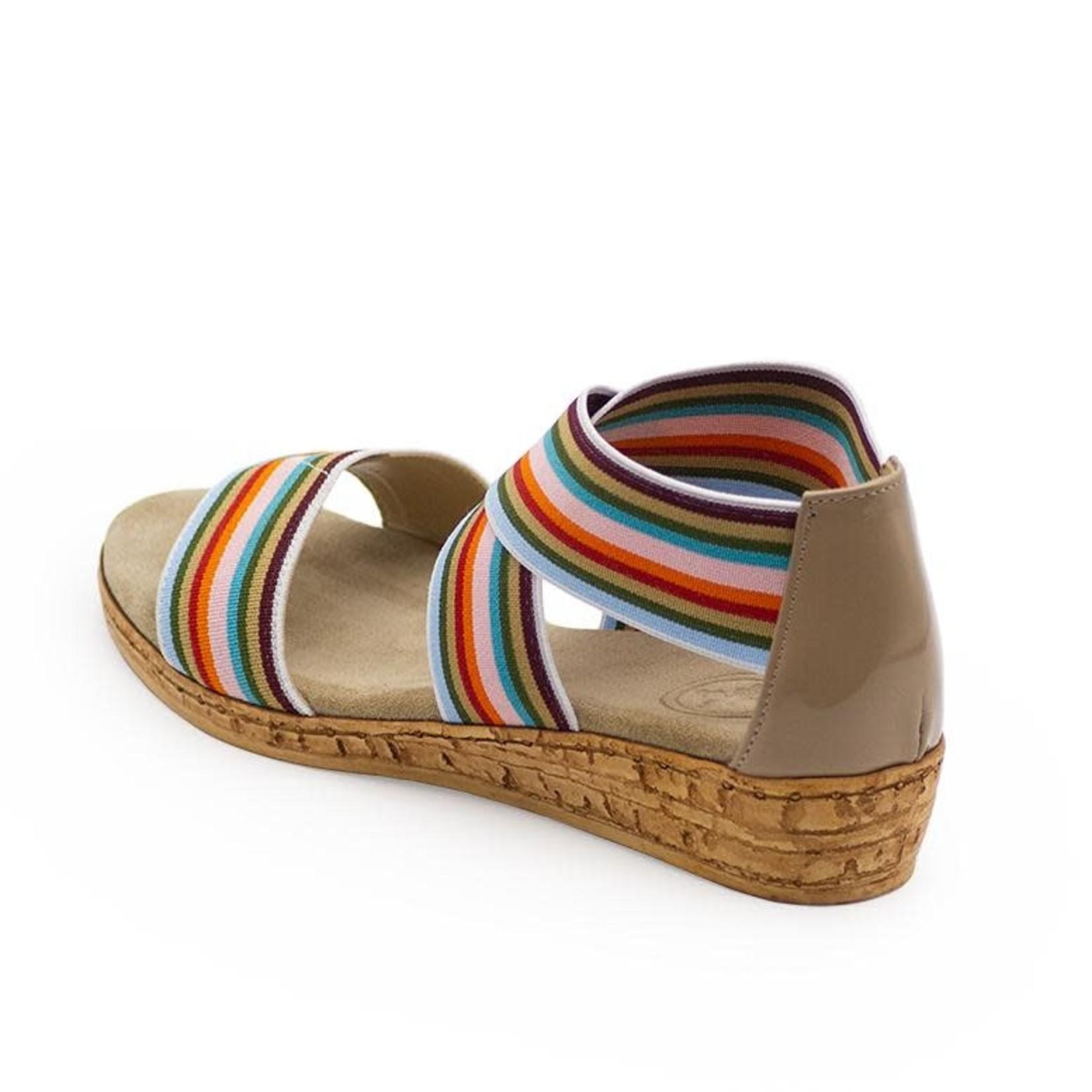 Peri Shoe in Multi Stripe 7