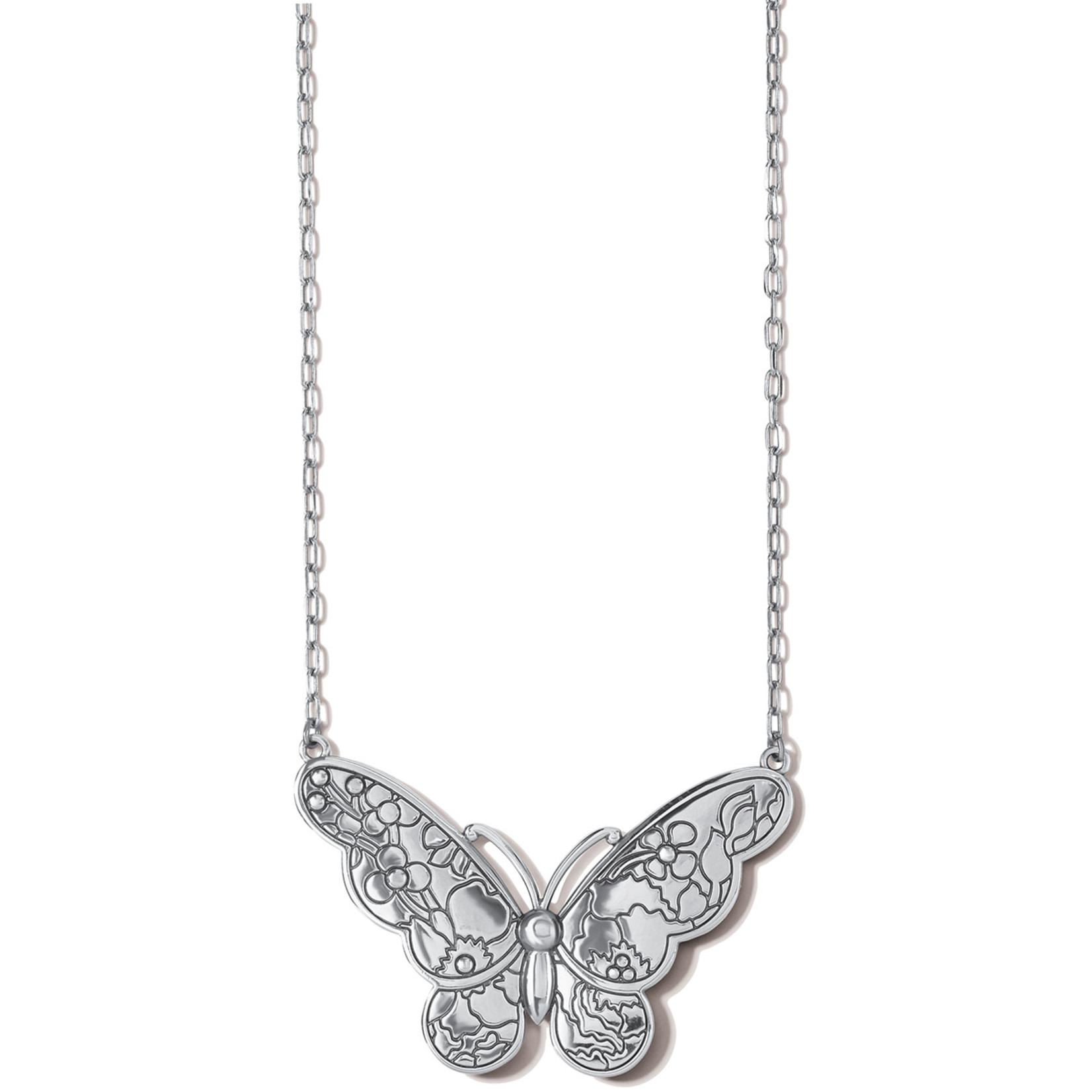 Brighton Blossom Hill Butterfly Necklace