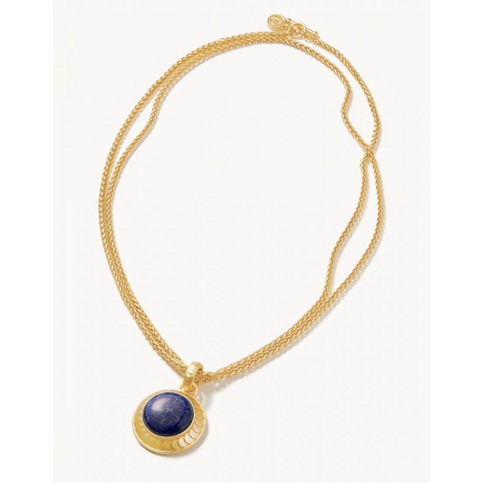 "Spartina Naia Ring 36"" Lapis Necklace"