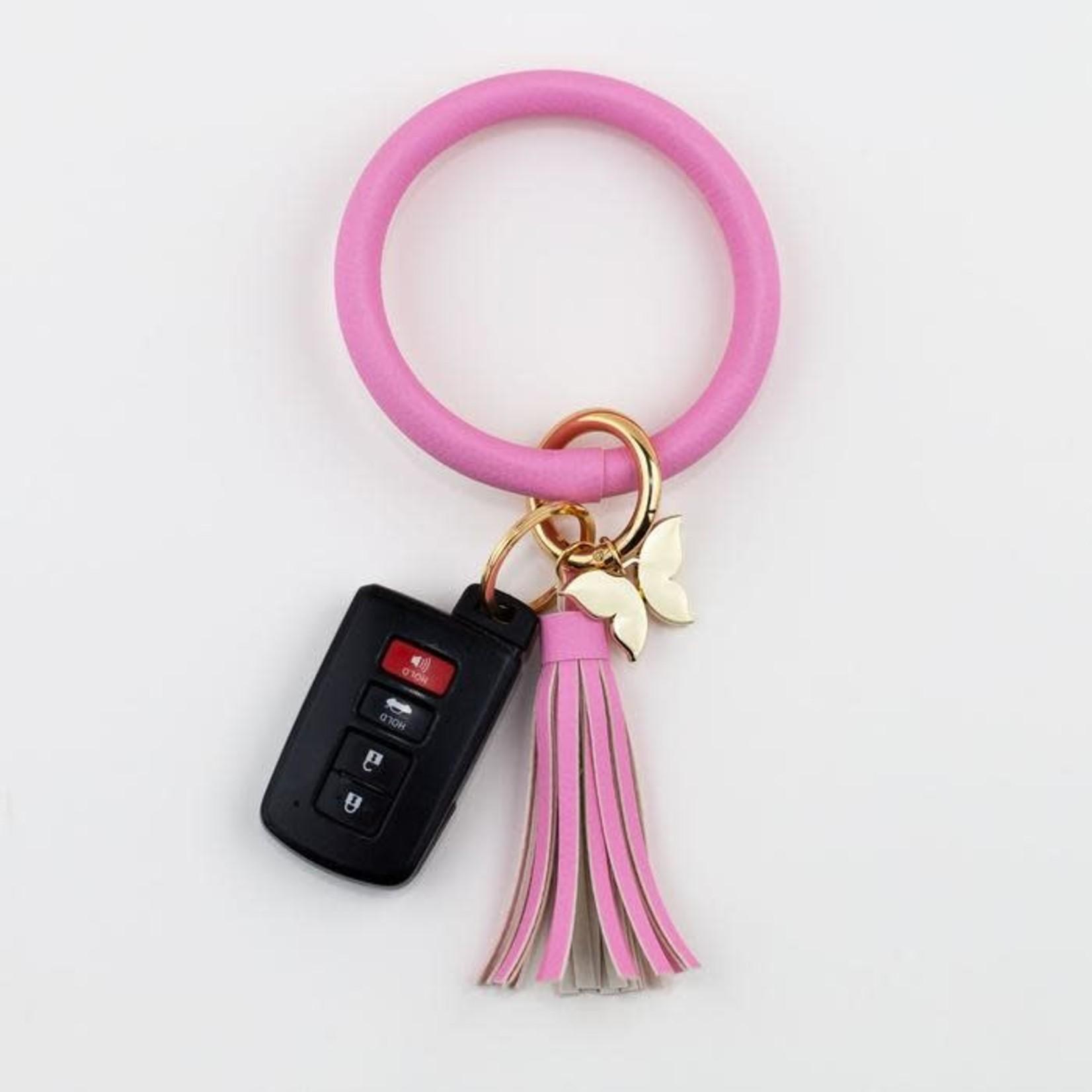 Bangle Key Ring - Pink