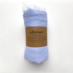 Rubyzaar Boho Scarf - Baby Blue
