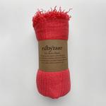 Rubyzaar Boho Scarf - Coral
