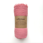 Rubyzaar Boho Scarf - Light Pink