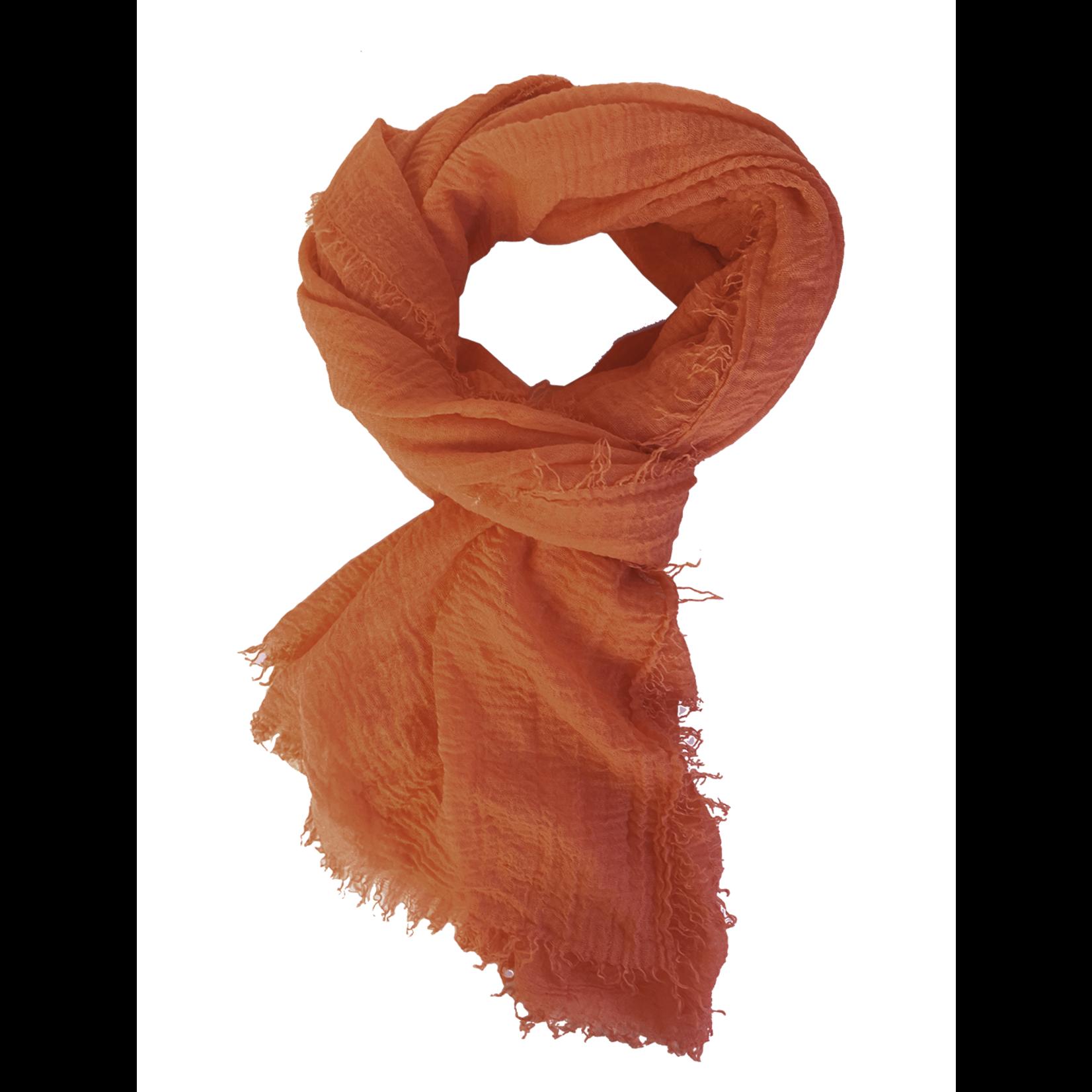 Rubyzaar Boho Scarf - Burnt Orange