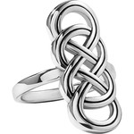 Brighton Interlok Braid Ring Silver 6