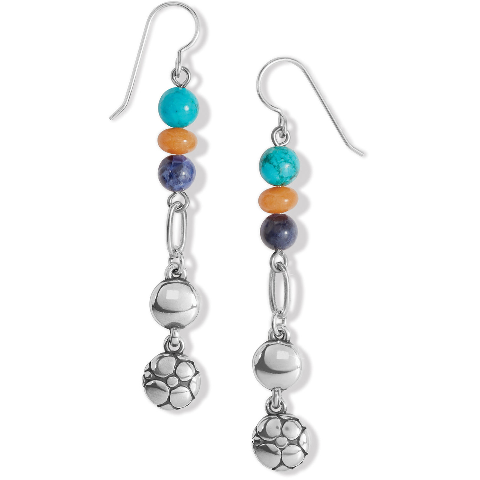 Brighton Pebble Multi French Wire Earrings