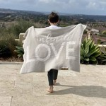 BIG LOViE Dream LOVE Throw Blanket Kids