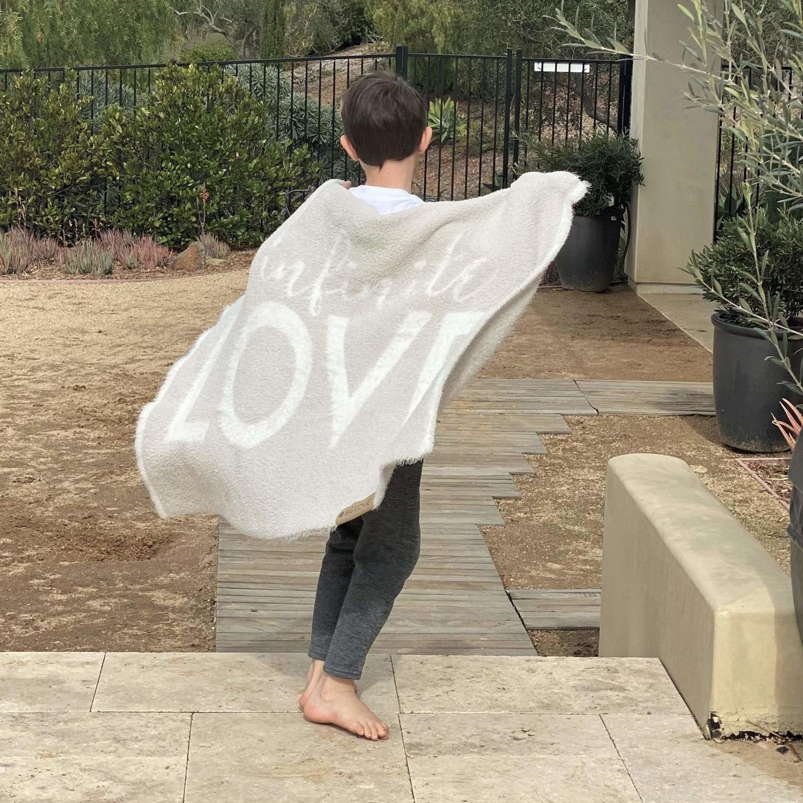 BIG LOViE Dream LOVE Throw Blanket Kids