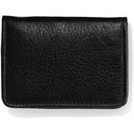 Brighton Jefferson Flip Wallet in Black